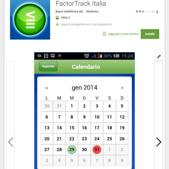 FactorTrack Italia: nuova App su Google play