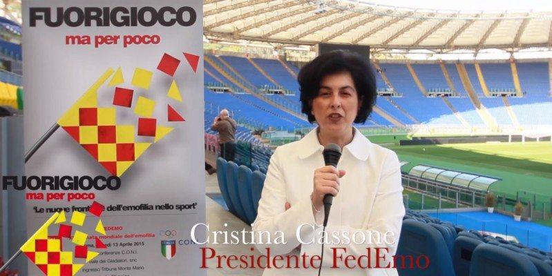 Cristina Cassone: videointervista