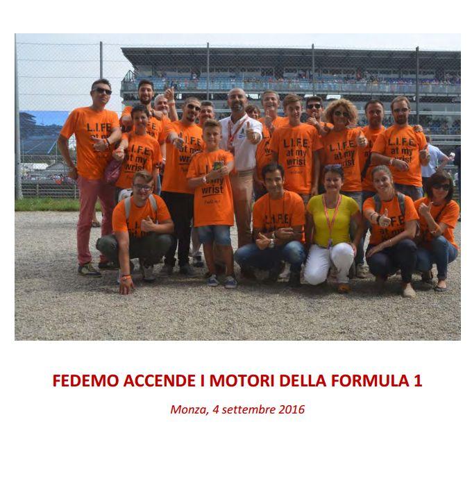 FedEmo accende i motori della Formula 1: rassegna stampa