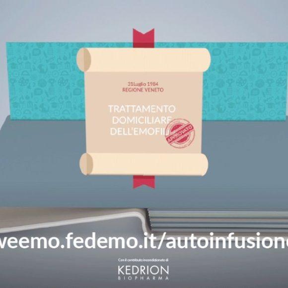 Arriva online il Focus 2 di Weemo: L'autoinfusione!