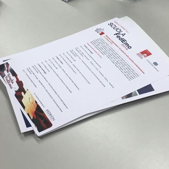 Scuola FedEmo: report del primo incontro