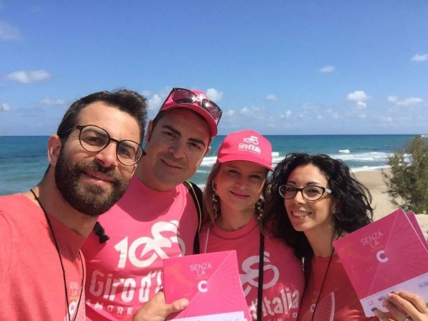 Senza la C – Giro d'Italia –  Cefalù: photogallery