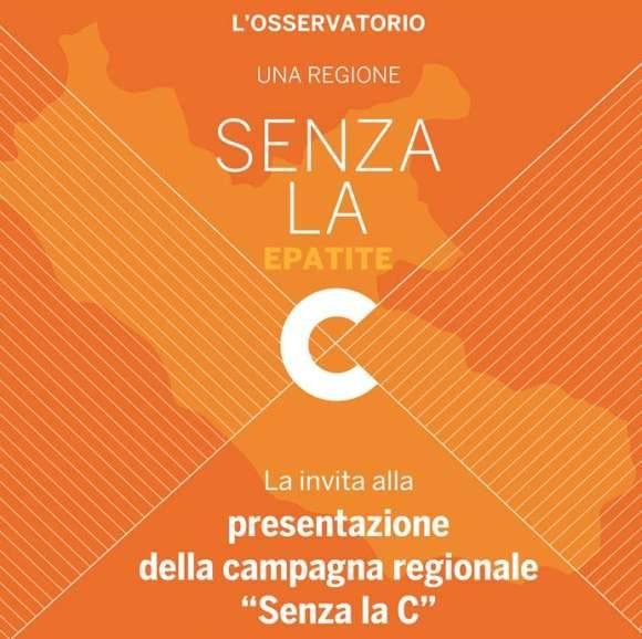 "Presentazione Campagna Una Regione ""Senza la C"""