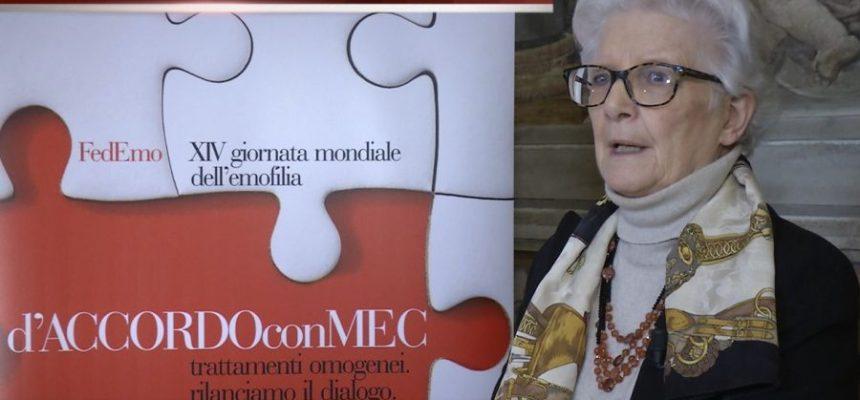 Paola Binetti – GME 2018 | Emofilia e Piano cronicità