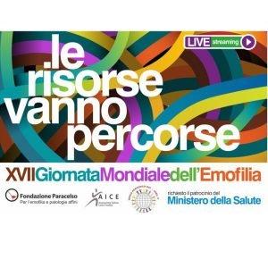15.04.2021 – XVII Giornata Mondiale dell'Emofilia – Il video integrale