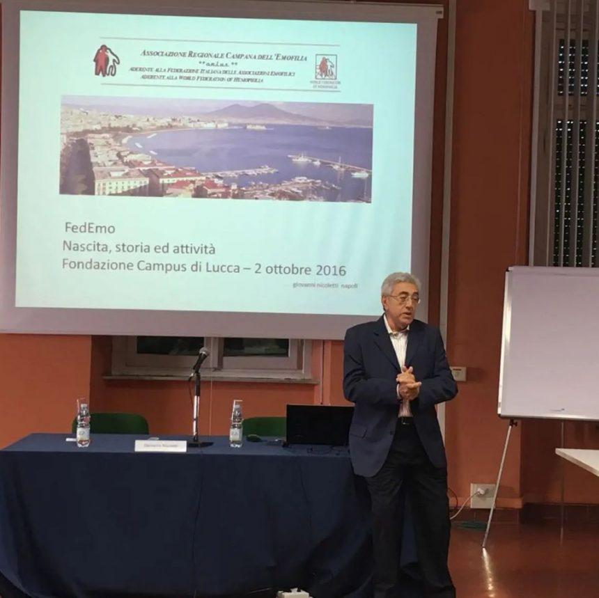 FedEmo e la comunità emofilica piangono la scomparsa del Dottor Giovanni Nicoletti